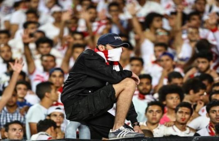 """من جمهور الزمالك لباسم مرسي: """"ارحل"""""""