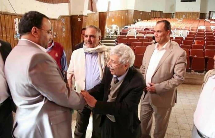 لماذا أغضبت صورة لكبير أدباء اليمن المثقفين العرب؟