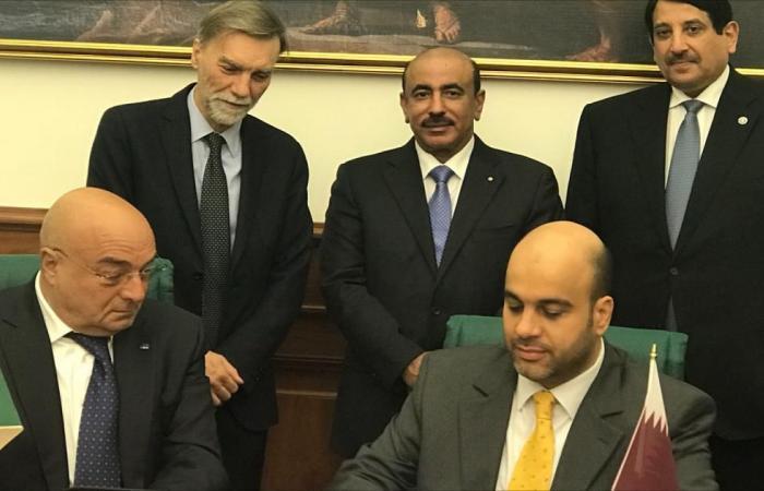 تعاون قطري إيطالي بمجال الموانئ