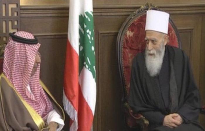 الشيخ نعيم حسن يستقبل السفير السعودي: لتعزيز العلاقات الثنائية الأخوية