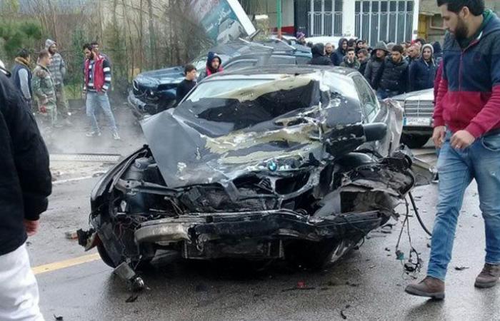 3 جرحى بحادث سير على طريق الضنية – طرابلس