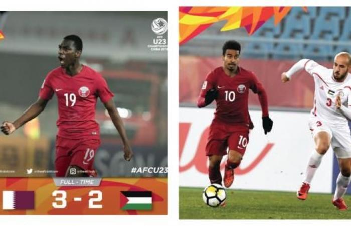 قطر إلى نصف نهائي كأس آسيا تحت 23 سنة