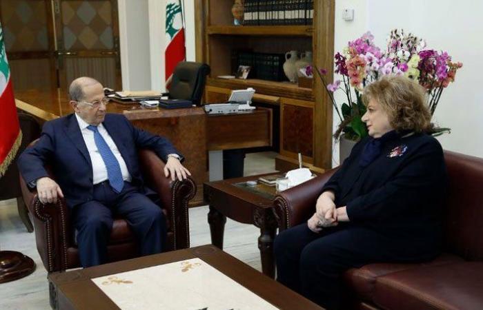 سلسلة لقاءات للرئيس عون في القصر الجمهوري