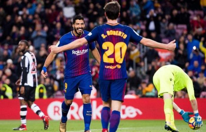 برشلونة يبقي روبيرتو في صفوفه حتى 2022