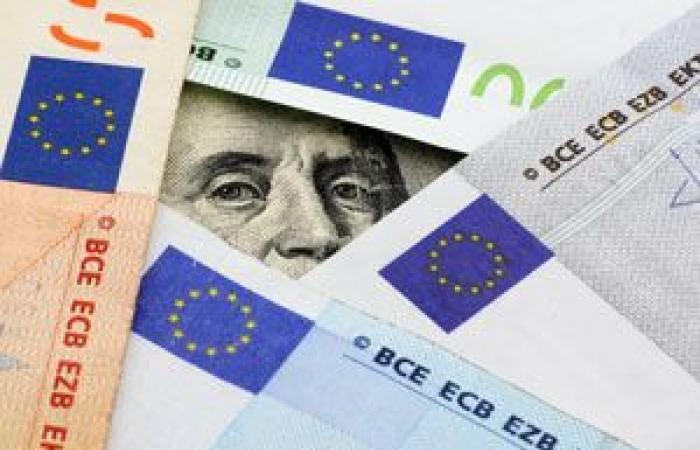 ارتفاع العملة الموحدة اليورو أمام الدولار الأمريكي خلال الجلسة الأمريكية