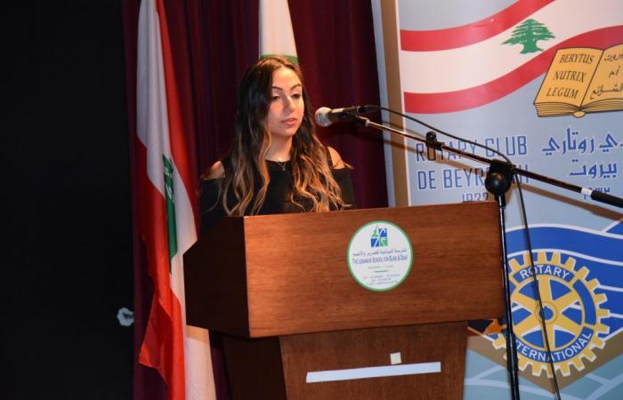 نادي Rotaract EEC بيروت يطلق العيادة المجتمعية لطب العيون
