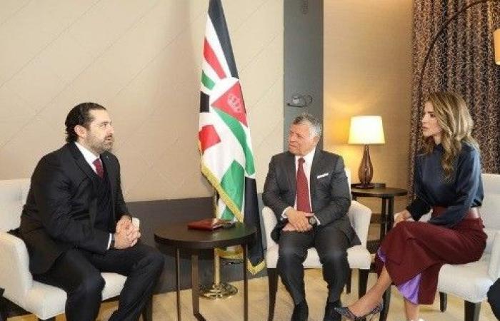 الحريري: ملك الأردن يدعم لبنان