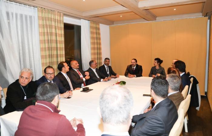 الحريري يتابع لقاءاته في دافوس ويدعو رئيس البرازيل لزيارة لبنان