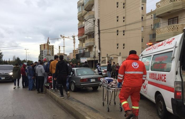حادث سير في أبي سمراء-طرابلس