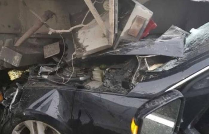 وفاة مواطن بحادث تصادم في شتورا