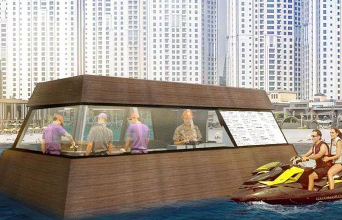 أول مطعم عائم في العالم… قريباً في دبي