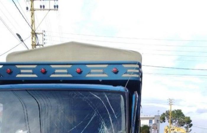 بالصور.. حادث سير عند مستديرة جعيتا