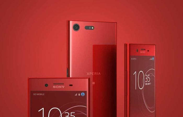 هاتف Xperia XZ Premium الأحمر .. درّة هواتف سوني المتطورة