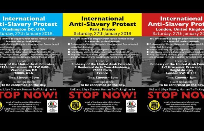 دعوات للاحتجاج أمام سفارات الإمارات بباريس ولندن وواشنطن
