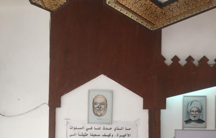 """""""العربية.نت"""" في مكتب فرج فودة.. بين كتبه ومؤلفاته"""