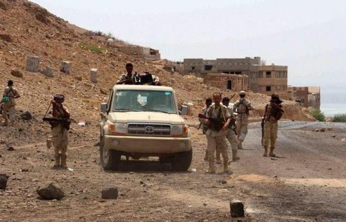 الجيش اليمني يحرر مواقع شمال مدينة تعز