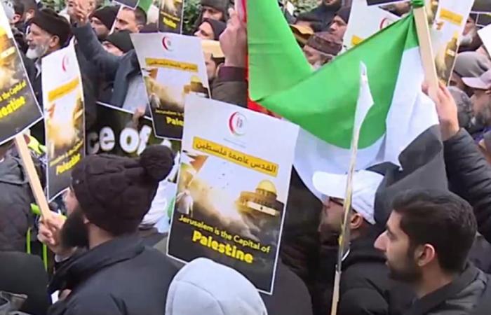 مؤتمر في لندن يندد بقرار ترمب بشأن القدس