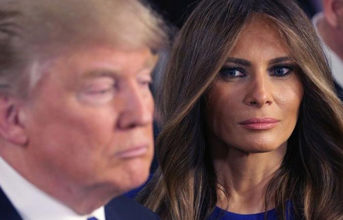 ميلانيا تهجر ترامب؟