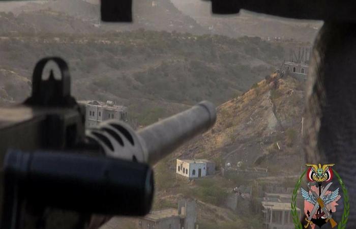 ثالث أيام عملية تعز.. الجيش يحرر مواقع من قبضة الحوثي
