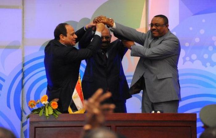 قمة مصرية إثيوبية سودانية اليوم لبحث سد النهضة