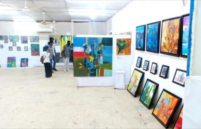 معرض تشكيلي يكشف اهتمام السودانيين بالفنون