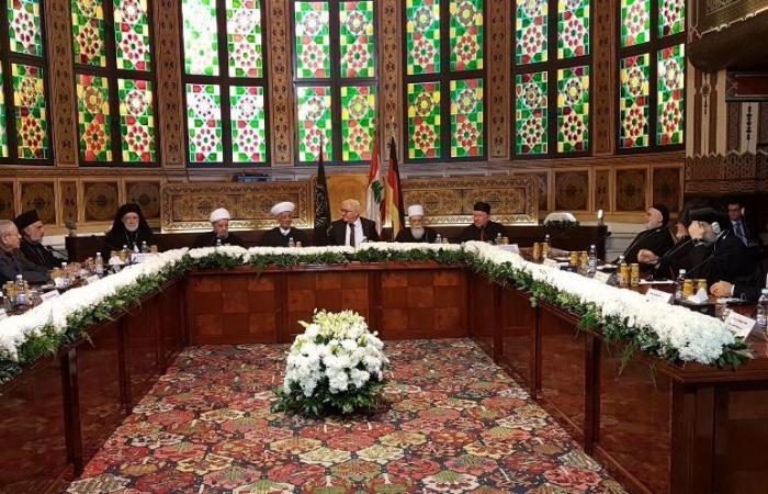 شتانماير التقى رؤساء الطوائف في دار الفتوى