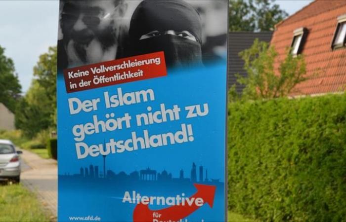 سياسي ألماني متطرف يهدد بالحرب على الإسلام بتركيا