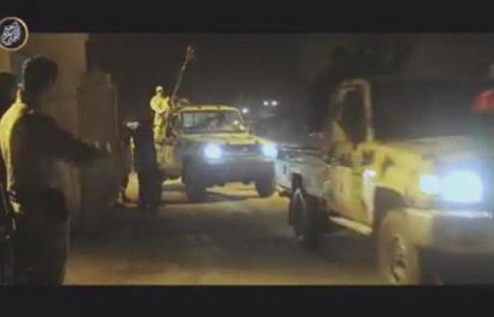 تجهيزات عسكرية من الجيش الليبي لدرنة استعداداً لتحريرها