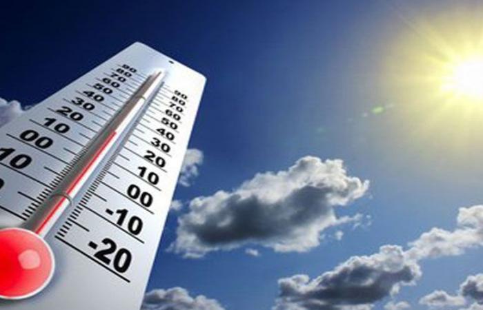 ارتفاع محدود بالحرارة الجمعة