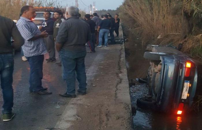 إصابة أم وأبنائها الـ5 بحادث سير قرب مسجد السلام