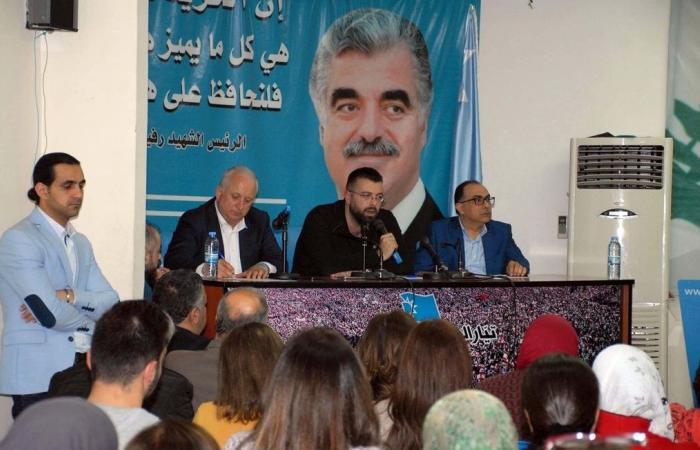 أحمد الحريري: 7 أيار سيكون يوماً لإنتصار الاعتدال