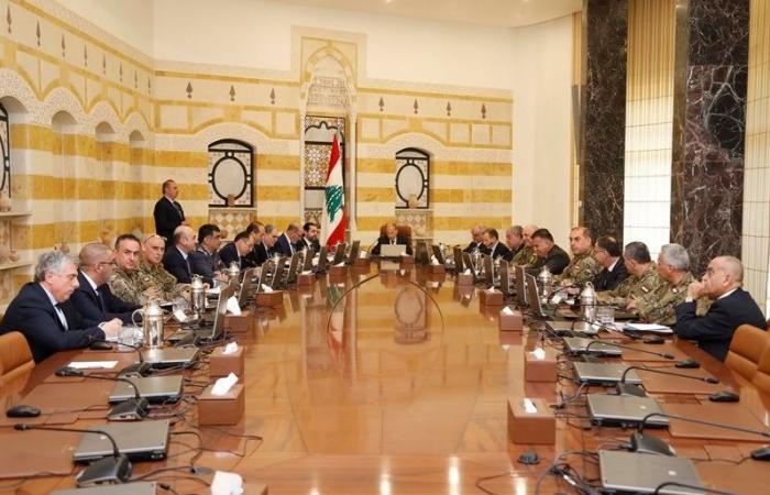 المجلس الأعلى للدفاع: غطاء سياسي لمواجهة اي اعتداء إسرائيلي