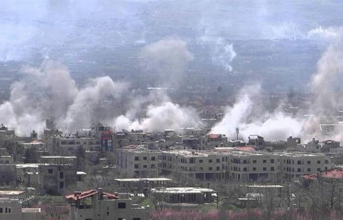 سوريا.. ارتفاع عدد ضحايا الغارات في الغوطة إلى 63 قتيلا