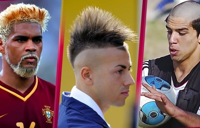 بالفيديو: أغرب 5 قصات شعر في عالم كرة القدم