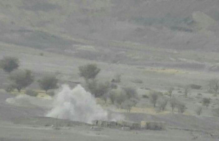 خسائر حوثية بقصف وغارات للتحالف في صرواح