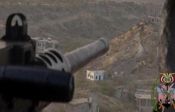 سقوط 25 حوثيا بين قتيل وجريح في معارك غرب تعز