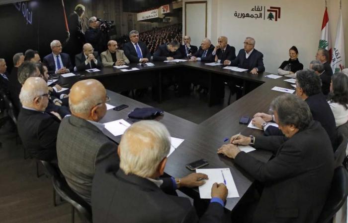 """""""لقاء الجمهورية"""": لأخذ تهديدات إسرائيل على محمل الجد"""