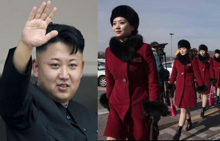 """بالصور: """"مشجعات كيم"""" الأنيقات في كوريا الجنوبية"""
