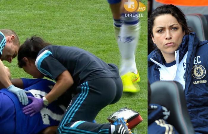 بالفيديو: طبيبة تشيلسي الشهيرة عاشقة للريال.. وهكذا تحتفل بفوزه!