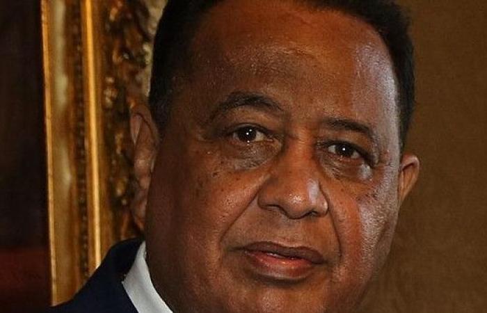 وزير الخارجية السوداني إلى القاهرة اليوم