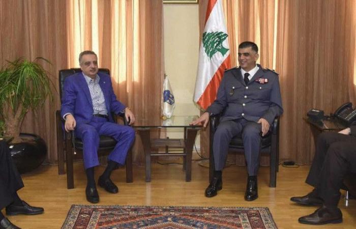 أرسلان عرض الاوضاع مع المدير العام لقوى الأمن الداخلي