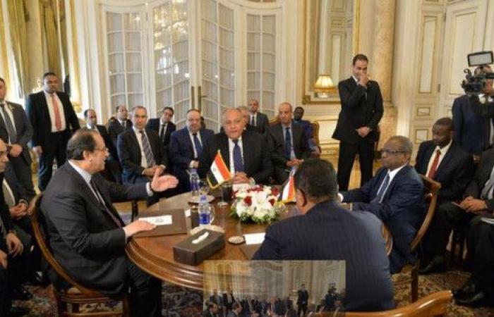 بيان مصري - سوداني: خارطة طريق لحل الخلافات
