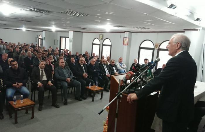 زعيتر: الاعتداء الإسرائيلي على سوريا والتهديدات للبنان تؤكد أننا شعب واحد