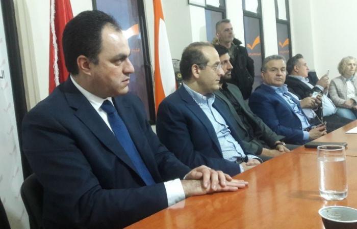 """خوري عقد اجتماعاً داخلياً مع منسقي وكوادر """"الوطني الحر"""" في عكار"""