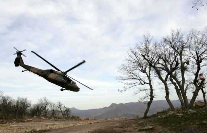 مقتل عسكريين تركيين بإسقاط مروحية في عفرين