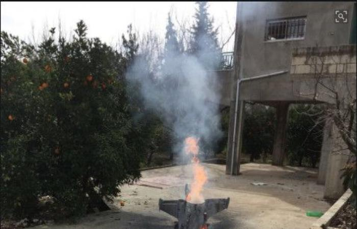 الجيش: العثور على بقايا صاروخين في منطقتي رياق وكوكبا