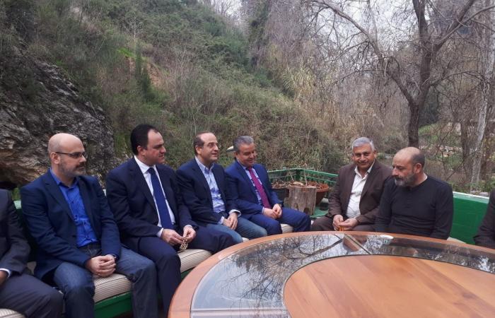 الصراف: نرفض استخدام اسرائيل الاجواء اللبنانية لتنفيذ غارات
