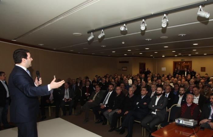نديم الجميل باجتماع ماكينته الانتخابية: سنبقى بالمرصاد!