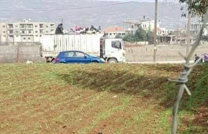 بالصور: شظايا صواريخ سورية تسقط في البقاع