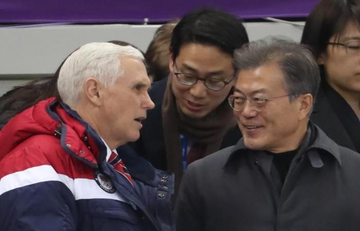 بينس يعزف لحنا نشازا مع دبلوماسية الرياضة الكورية